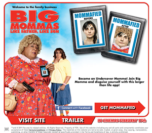 Big Momma 3 Get Mommafied Facebook App